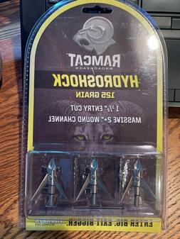 Ramcat Hydroshock Broadheads - 125 gr - 3 pack