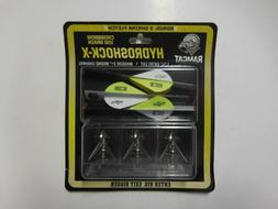 Ramcat Hydroshock-X 100 gr. Crossbow Broadheads