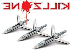 NAP Killzone Low KE Mechanical Broadhead 2 Blade 100 Grain 1