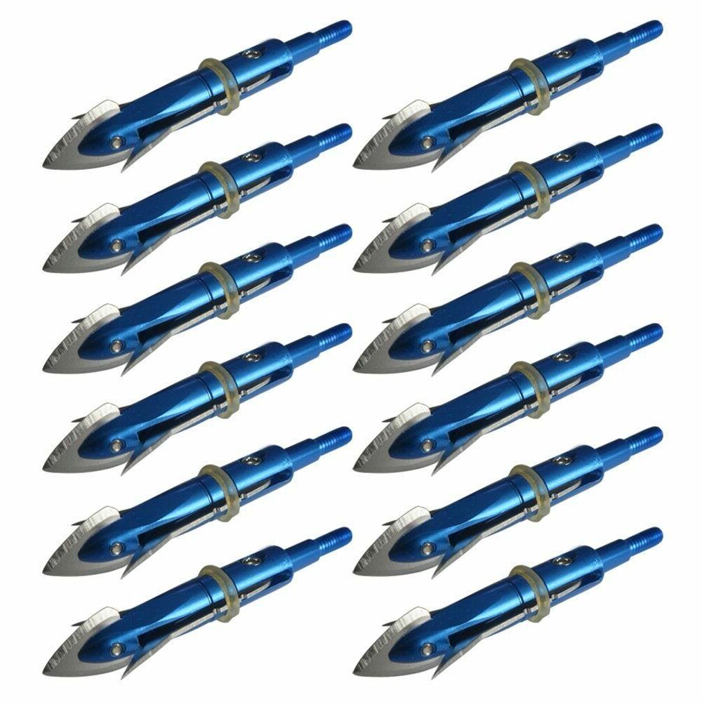 12pcs archery ing broadheads 2 3 cut