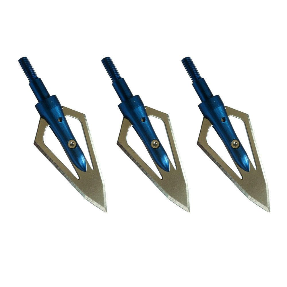 12Pcs grain Crossbow Compound Points
