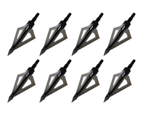 12pcs 3 Fixed Blade Arrowheads Screw