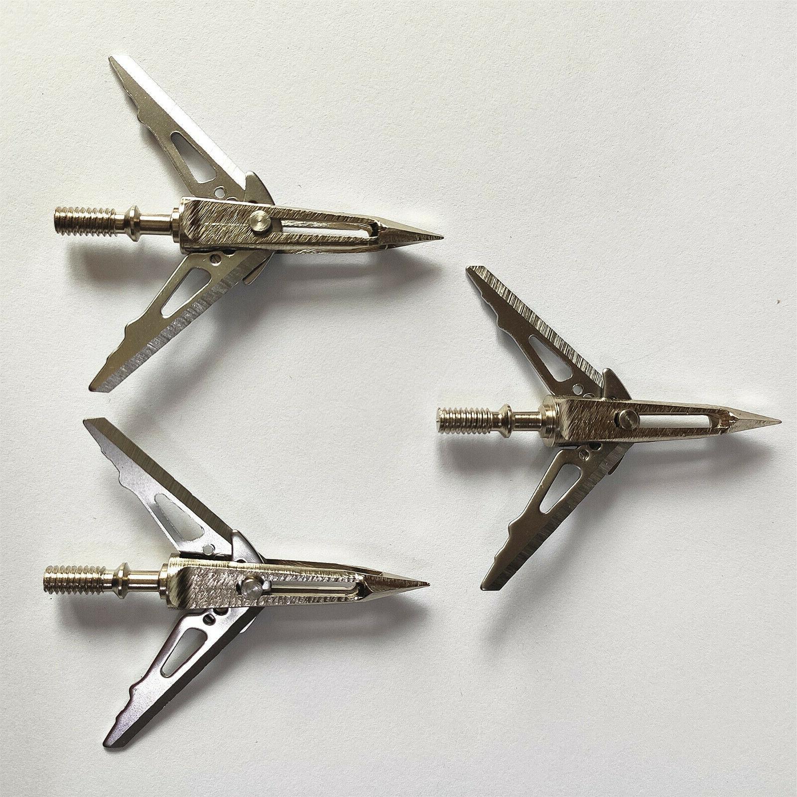 12PCS Hunting Killzone 100GRAIN Sharp Blade