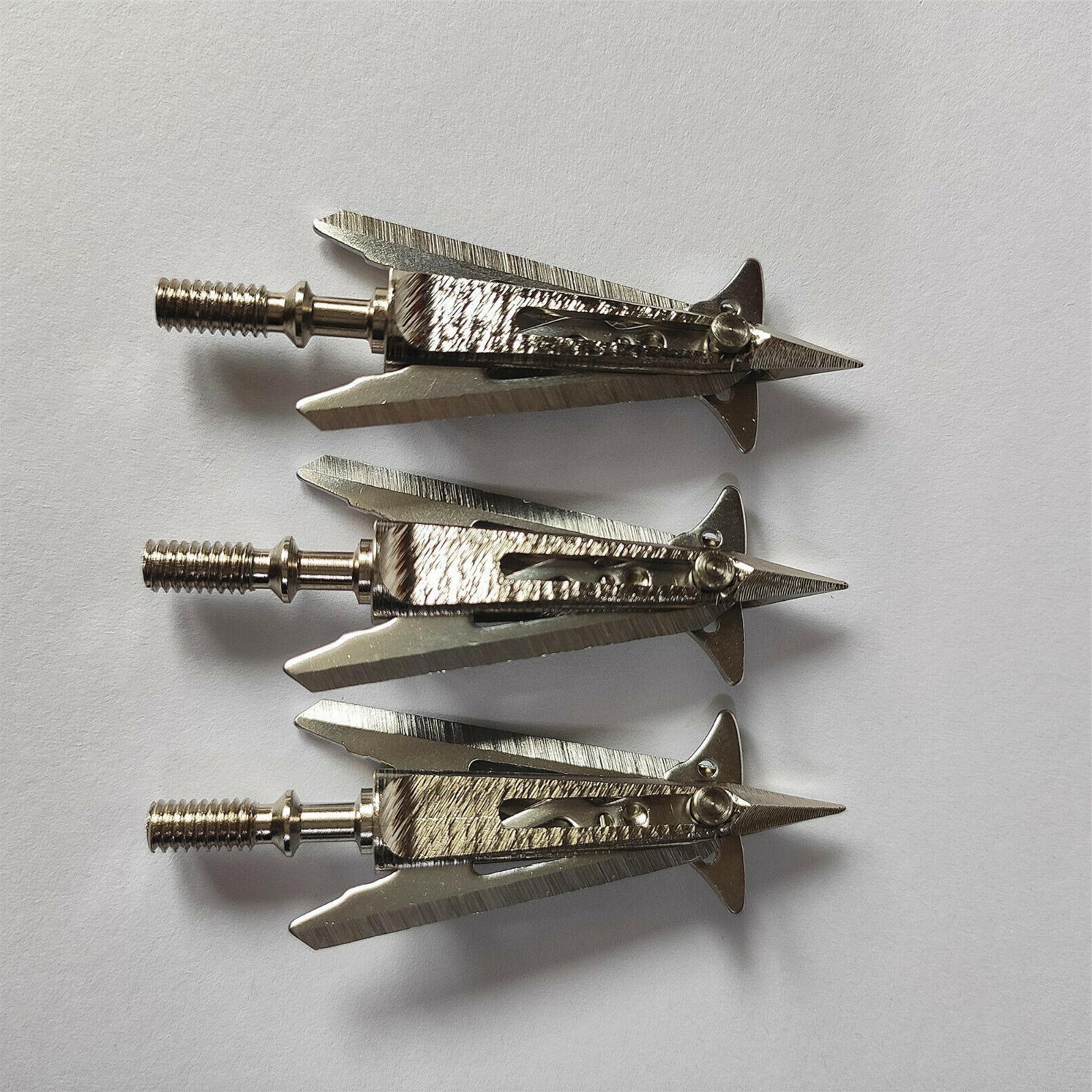 12PCS Killzone 100GRAIN Sharp Blade Cut Archery