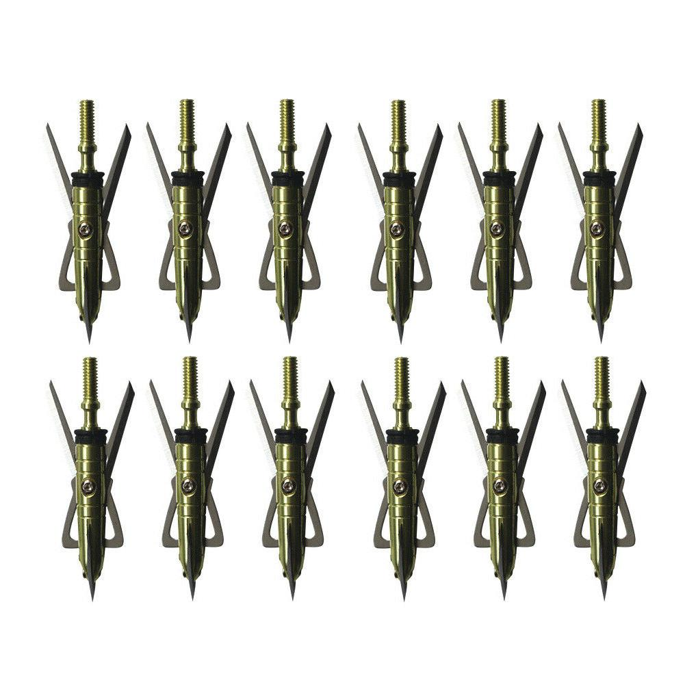 12pcs x treme broadheads 100 grain