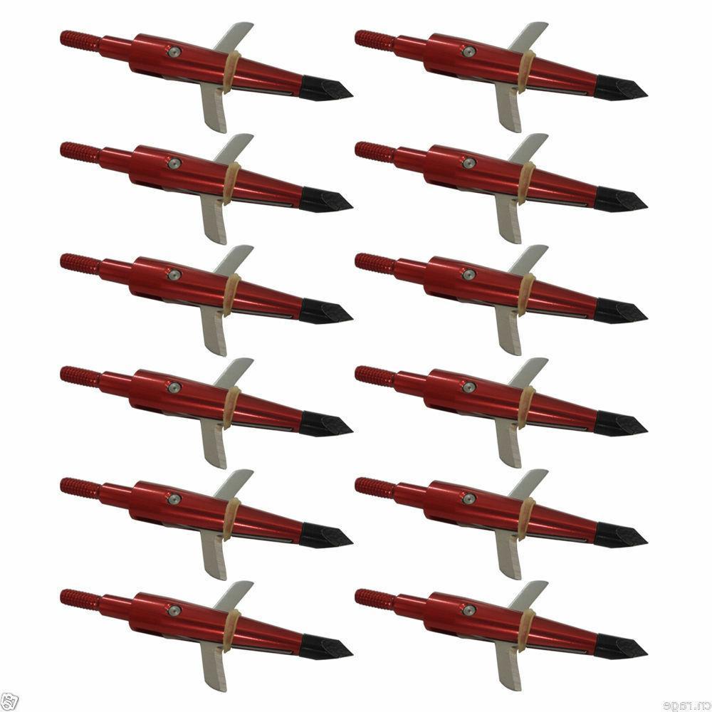 """12X Swhacker 1.75"""" Arrow Compound"""