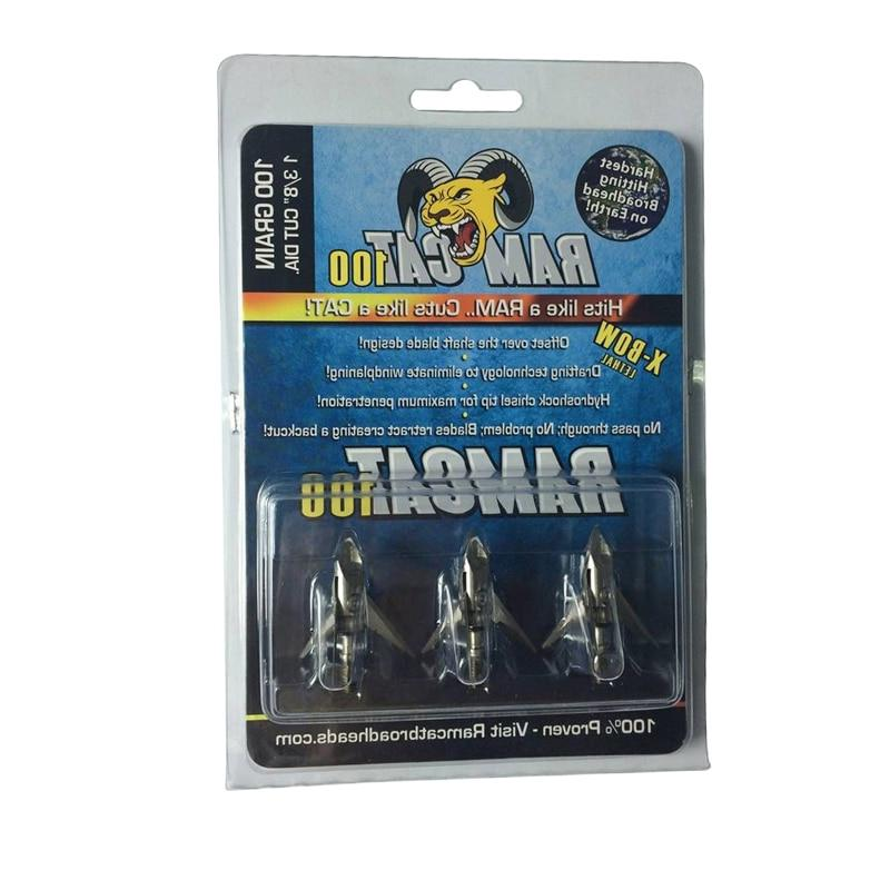 1pcs <font><b>Broadheads</b></font> Arrows Tips Heads for Archery Hunting Apply Compound and Recoil Arrow