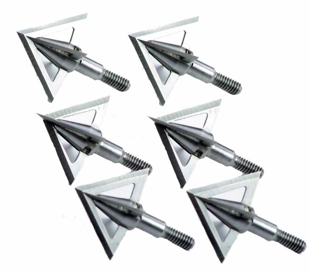 1pcs <font><b>Broadheads</b></font> Tips Arrow Heads Archery Hunting Compound Crossbows Recoil Arrow