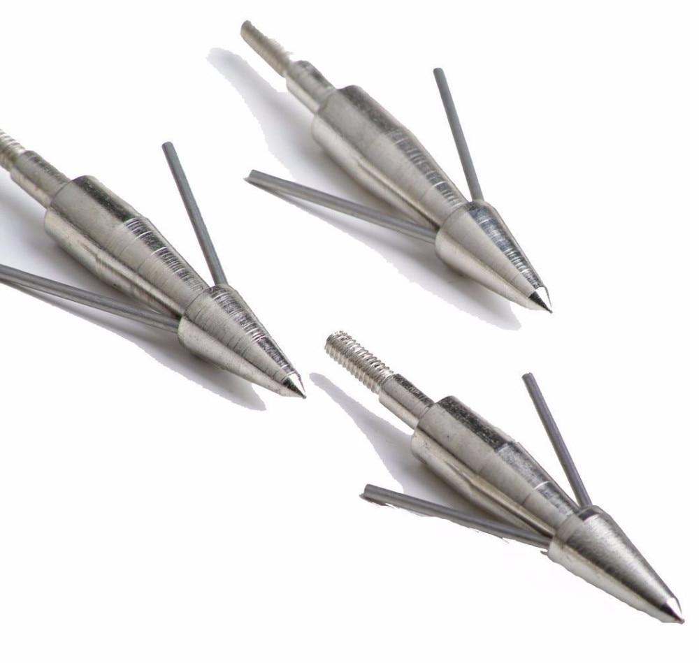 1pcs <font><b>Broadheads</b></font> 100gn-125gn Tips Archery Hunting Apply Compound Recoil Arrow