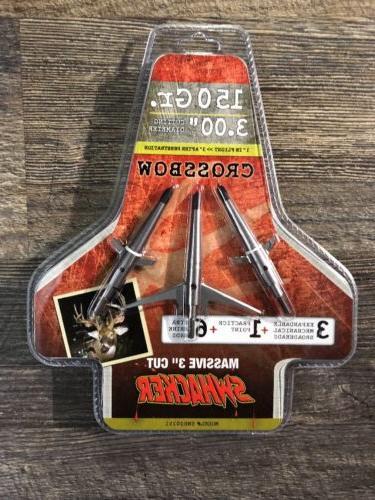 2 blade crossbow broadhead 150 grain 3