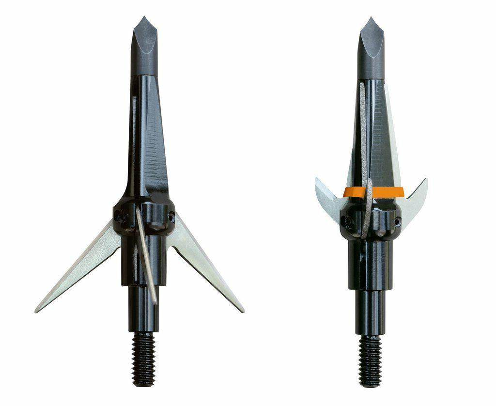 Swhacker 3 Blade Broadhead 100 gr. 1.5 in. 3 pk Black