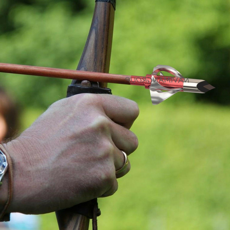 6/12pc Broadheads Grain Arrow Points