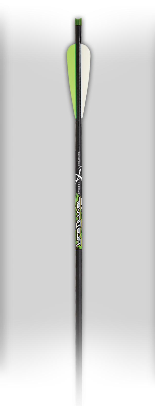 "6 pk - Carbon Express Piledriver Crossbow Bolts 22"""