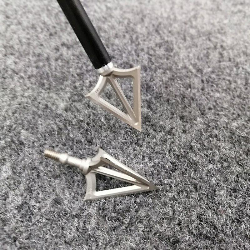 6pcs Archery Fixed <font><b>Broadhead</b></font> Sharp Arrow Head Stainless Fix G5 Point Hunting