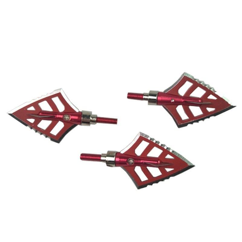 6pcs Archery <font><b>4</b></font> <font><b>Broadheads</b></font> arrow tips arrow Hunting