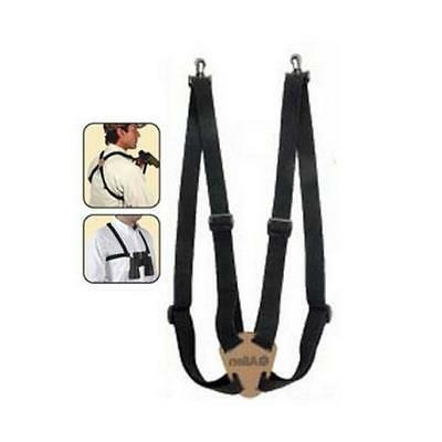 Allen Co 199 Deluxe Binocular Strap: 4 Way Adjustable, black