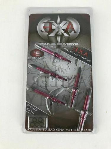 AXE Bone 100 GR Expandable Broadhead 5 Archery