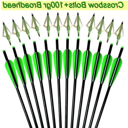 crossbow bolts 16 18 20 22 inch