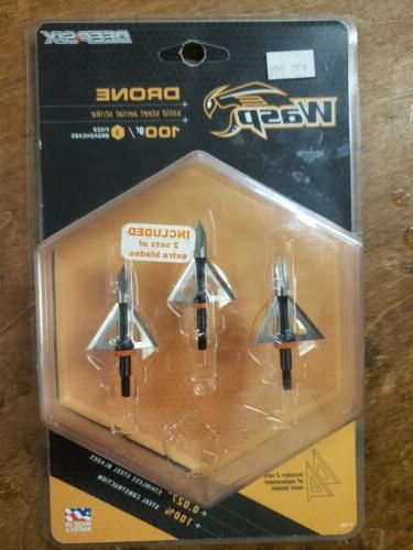 Wasp Archery Products Drone Deep 6 100Gr With 1 1/8 Cut Broa