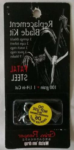 Grim Reaper Steel Kits , 100 Silver