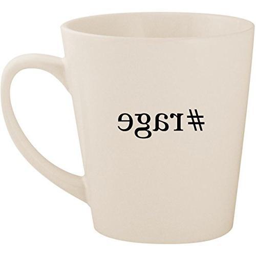 hashtag ceramic latte mug cup