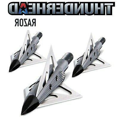 nap thunderhead razor fixed blade broadhead 100