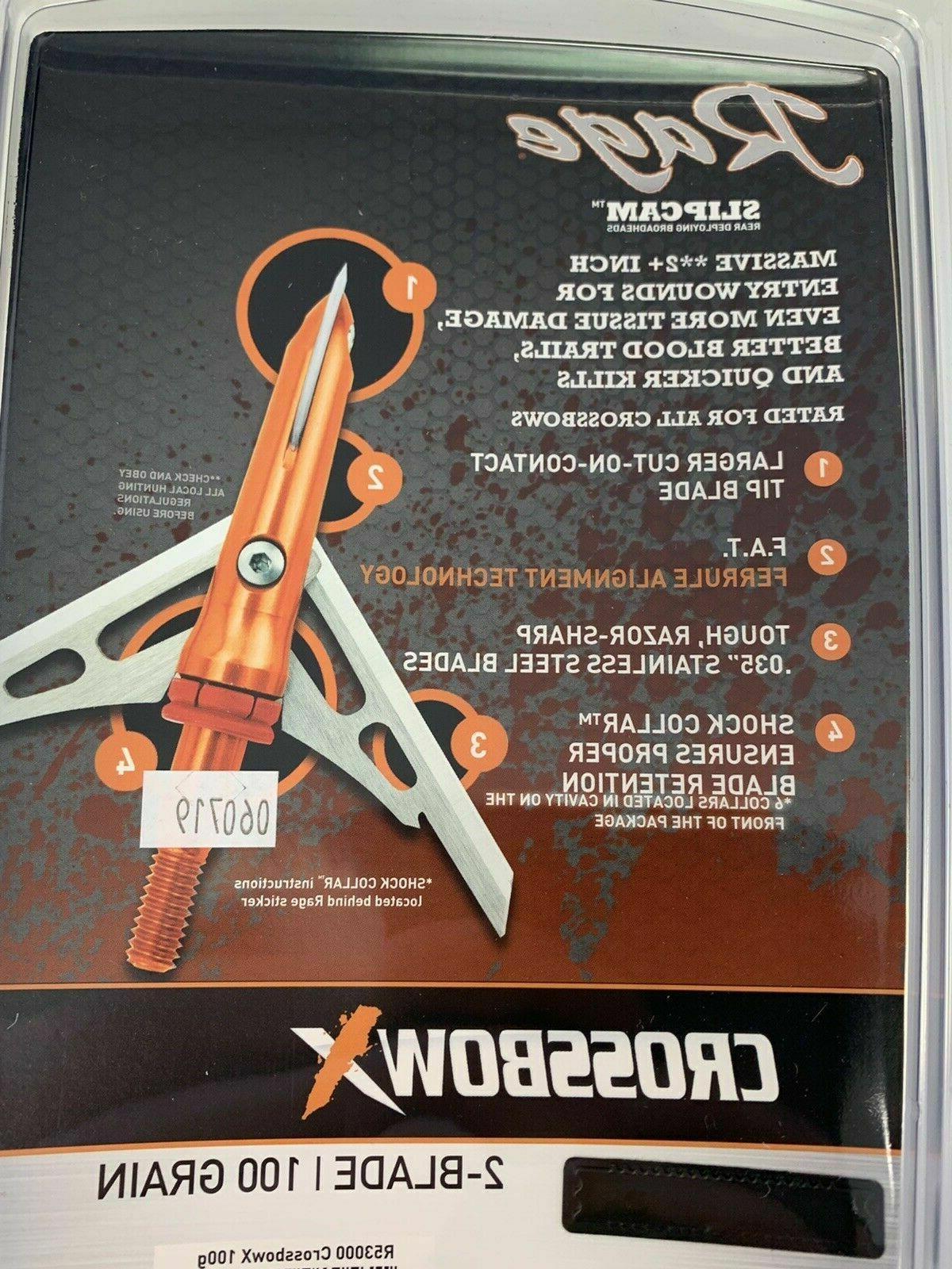 "NEW SlipCam Crossbow X 2"" Grain"