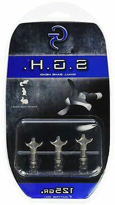 G5 Outdoors Small Game Broadheads, Designed with Blunt Tips