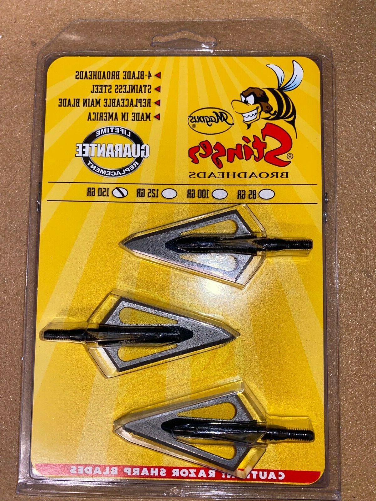 stringer4 blade broadhead 150 grs