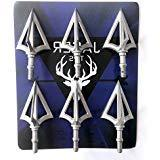 JAGER Best Value Broadhead Arrow Tips 6pcs Set! Stainless St