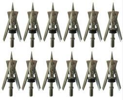 Lot/12Pcs 100 Grain Broadheads 2 blade Free shipping & USA S