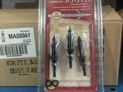 LOT OF 2, 3 PK Allen Spider Broadheads #14660AM NEW 100 Grai