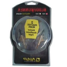 New Archery Products NAP Bloodrunner Practice Heads 2 Blade