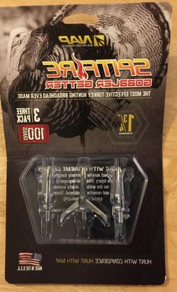 NAP Spitfire New Archery Products Gobbler Getter 3 Blade 100