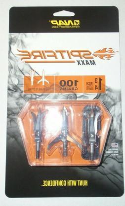 @NEW@ 1-3pk. NAP Spitfire MAXX Broadheads! new archery produ