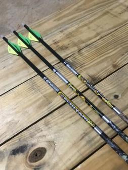 "New Carbon Express Mayhem Hunter DS 250, 9 Arrows, 30"" Pre"