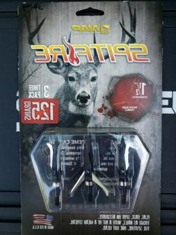 New NAP Spitfire 3 Blade 125 Grain Broadheads 3 Pack New Arc