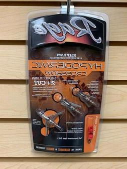 "New Rage Hypodermic Crossbow 100 Gr  2"" Cut Broadheads Autho"