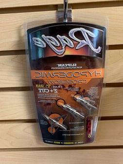 "New Rage Hypodermic Crossbow 125 Gr  2"" Cut Broadheads Autho"