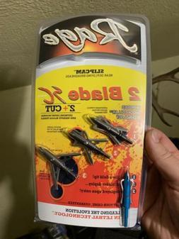 "NEW Rage Slip Cam 2 Blade SC 2"" Cut - 100 Grain 2 Blade Broa"