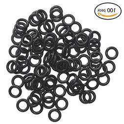 100pcs 1/4 Inch O-rings Specifically for Broadhead Replaceme