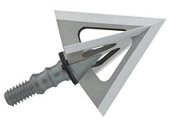 Muzzy Phantom SC 100 Grain Standard Broadhead, Silver by Muz