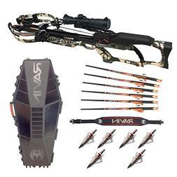 Ravin Crossbows R10 Predator Camo Crossbow with R182 Hard Ca