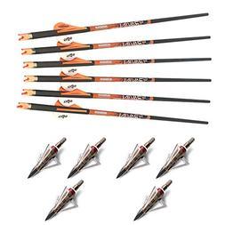 Ravin Crossbows R138 Carbon 400 Grain .003 Crossbow Arrows ,