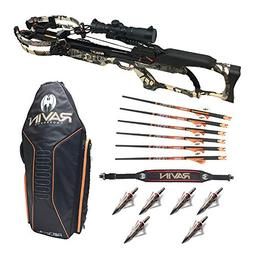 Ravin Crossbows R20 Camo Crossbow Package with R180 Soft Cas