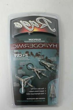 R39100 Rage Hypodermic Standard Shock Collar Broadhead  100