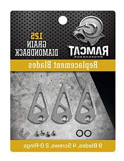 Ramcat R4006 Archery Broadheads, 125 Grain