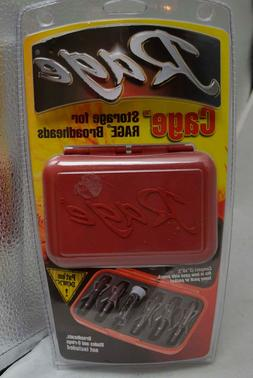 Rage Cage Storage for Rage Broadheads Bow Hunter Red Case Ho