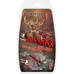 Dead Ringer Rampage 125 Grain 3-Blade for Broadheads , 2-Inc