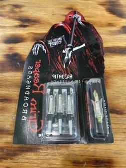 """Grim Reaper Razortip Broadheads 1-3/4"""" 100 Grain 3 Pack #190"""
